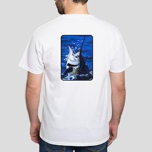 Marvin Marlin White T-Shirt