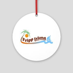 Fripp Island SC Ornament (Round)