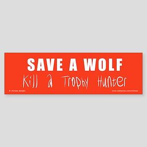 SAVE A WOLF Sticker
