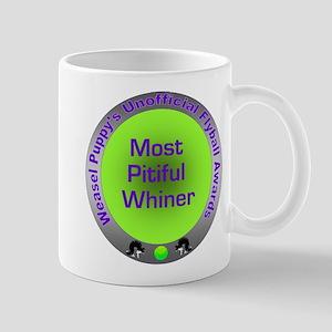 Most Pitiful Whiner Flyball Award Mug