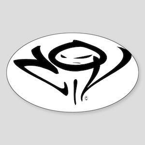 CiV Oval Sticker