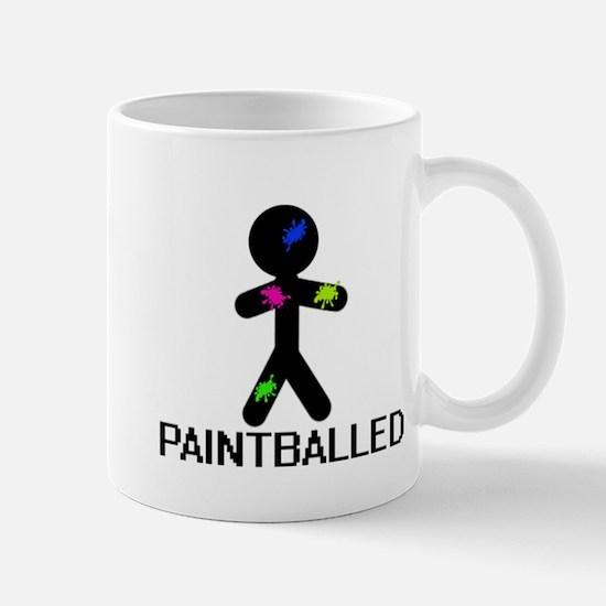 Paint Balled Mug