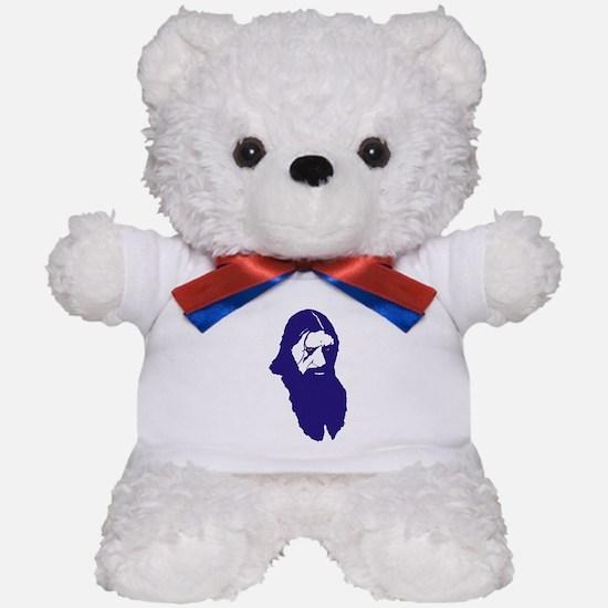 Raspy-blue Teddy Bear