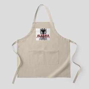 3D Albania BBQ Apron