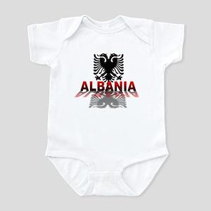3D Albania Infant Bodysuit