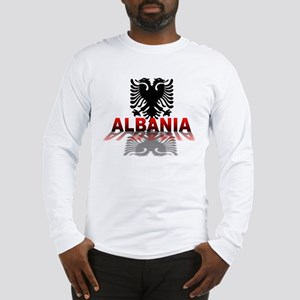 3D Albania Long Sleeve T-Shirt