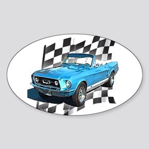 Mustang 1967 Oval Sticker