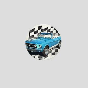 Mustang 1967 Mini Button