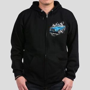 Mustang 1967 Zip Hoodie (dark)