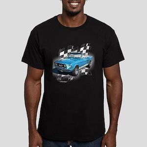 Mustang 1967 Men's Fitted T-Shirt (dark)