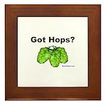 Got Hops? Framed Tile