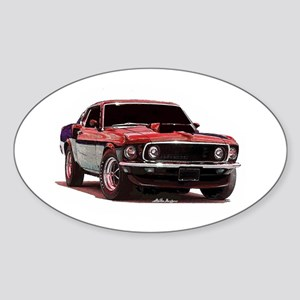 Mustang 1969 Oval Sticker