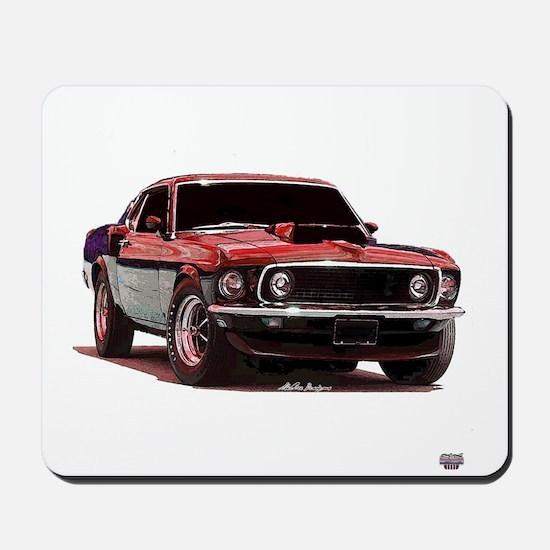 Mustang 1969 Mousepad
