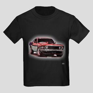 Mustang 1969 Kids Dark T-Shirt