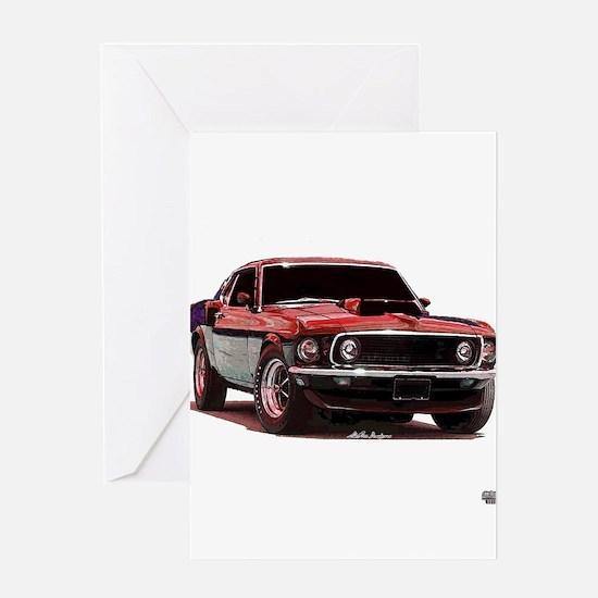 Mustang 1969 Greeting Card