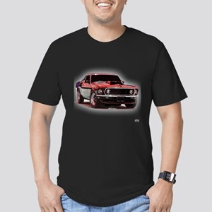 Mustang 1969 Men's Fitted T-Shirt (dark)