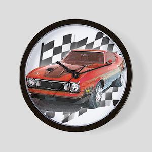 Mustang 1973 Wall Clock