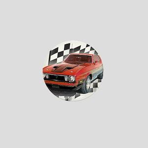 Mustang 1973 Mini Button