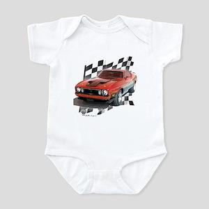 Mustang 1973 Infant Bodysuit