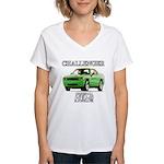 2009 Challenger Women's V-Neck T-Shirt