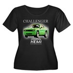 2009 Challenger Women's Plus Size Scoop Neck Dark