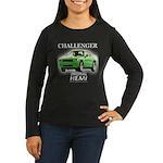 2009 Challenger Women's Long Sleeve Dark T-Shirt