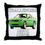 2009 Challenger Throw Pillow