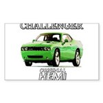 2009 Challenger Rectangle Sticker 50 pk)