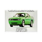 2009 Challenger Rectangle Magnet (100 pack)