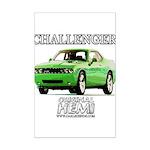 2009 Challenger Mini Poster Print