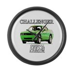2009 Challenger Large Wall Clock