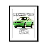 2009 Challenger Framed Panel Print
