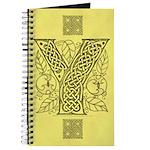 Celtic Letter Y Journal