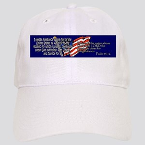 Pledge of Allegiance Psalm 33 Cap