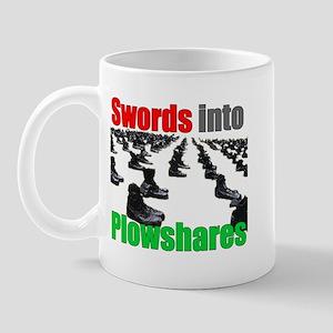 Swords into Plowshares Mug
