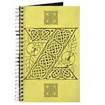 Celtic Letter Z Journal