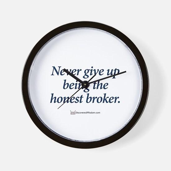 Unique Funny slogans Wall Clock