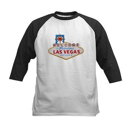 Vegas Baby! Kids Baseball Jersey