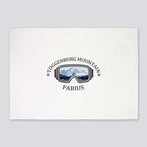 Toggenburg Mountain - Fabius - Ne 5'x7'Area Rug