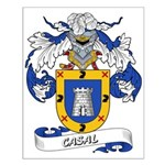 Casal Coat of Arms Small Poster