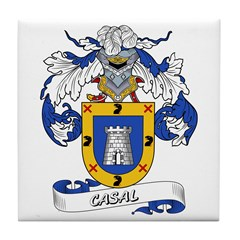 Casal Coat of Arms Tile Coaster