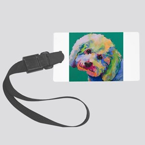 Puffy Large Luggage Tag
