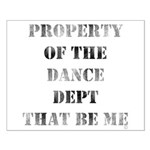 Dance Dept Small Poster