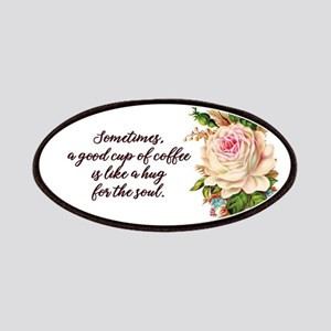 Vintage Rose Coffee Patch