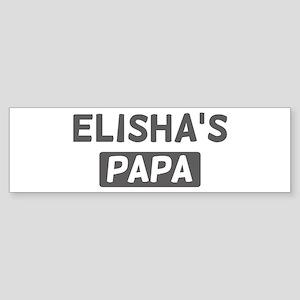 Elishas Papa Bumper Sticker
