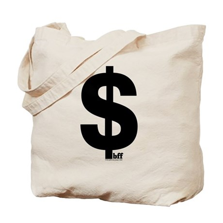 BFF moneybags tote bag