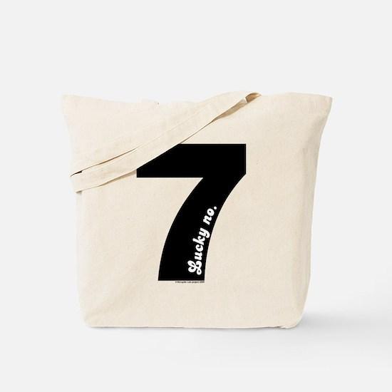 Lucky No 7 tote Bag