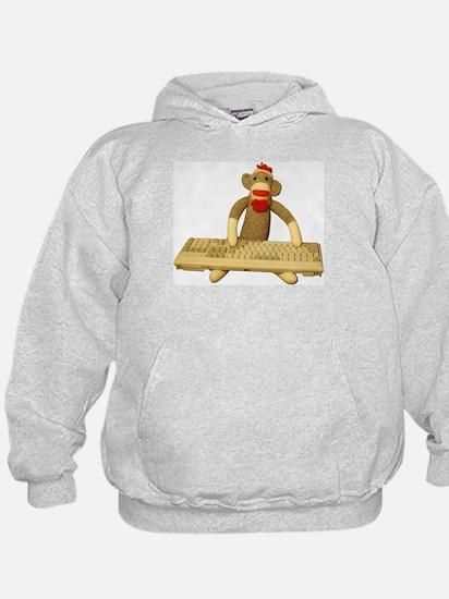 Code Sock Monkey Hoodie