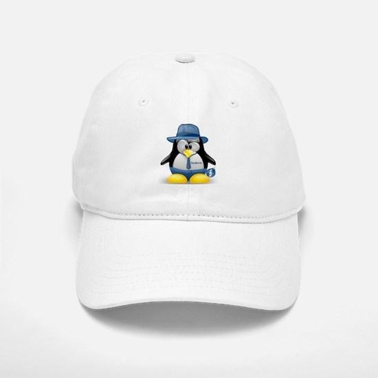 Fedora Tux Baseball Baseball Cap