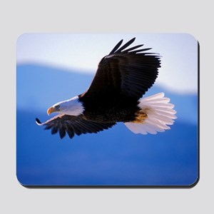 Bald Eagle flying Mousepad
